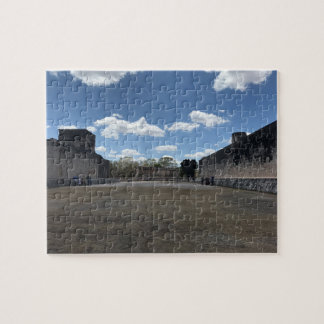 Great Ball Court, Chichen Itza Jigsaw Puzzle