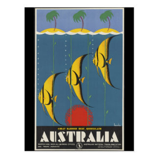 Great Barrier Reef Australia Postcard