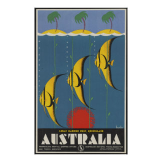 Great Barrier Reef Australia Poster