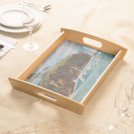Great beach serving trays