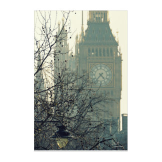 Great Bell (Big Ben) Acrylic Wall Art