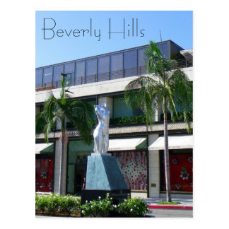 Great Beverly Hills Postcard! Postcard