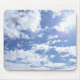 Great Big Sky with a bit o' sun Mouse Pad