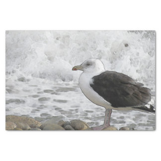 Great Black-Backed Gull Tissue Paper