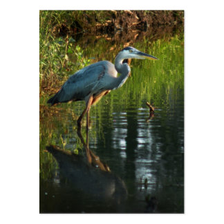 Great Blue Heron ATC Photo Card 2 Business Card Template