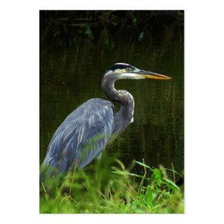 Great Blue Heron ATC Photo Card Business Cards