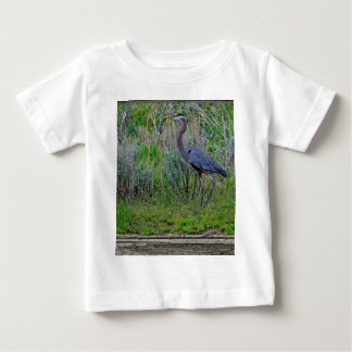 Great Blue Heron Baby T-Shirt