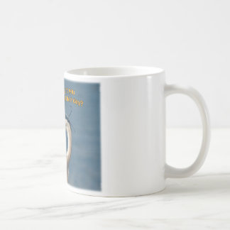 "Great Blue Heron ""Bad Hair Day"" Coffee Mug"