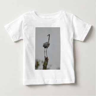 Great Blue Heron Bird Nature Baby T-Shirt