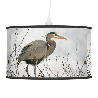 Great Blue Heron Bird Wildlife Animal Lamp