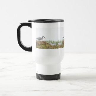 Great Blue Heron Bird Wildlife Animals Travel Mug