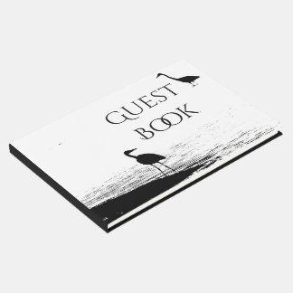 Great Blue Heron Birds Wildlife Animal Guest Book