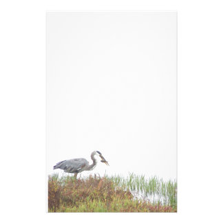 Great Blue Heron Birds Wildlife Animals Stationery