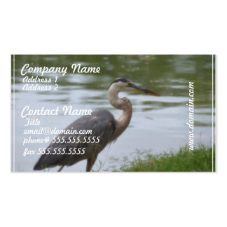 Great Blue Heron Business Card Templates