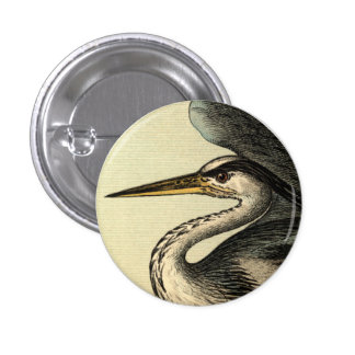 Great Blue Heron Button