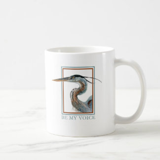 Great Blue Heron by Jane Freeman Coffee Mug