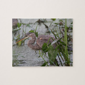 Great blue heron close up jigsaw puzzle