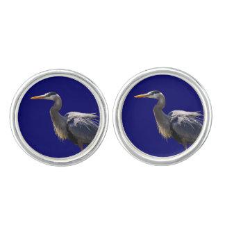 Great Blue Heron Cufflinks