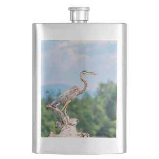 Great Blue Heron Flasks