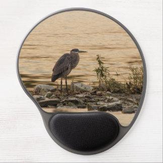 Great Blue Heron Gel Mouse Pad