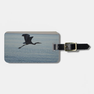 Great Blue Heron in Naples, FL Luggage Tag