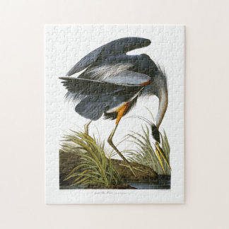 Great Blue Heron, John James Audubon Jigsaw Puzzle