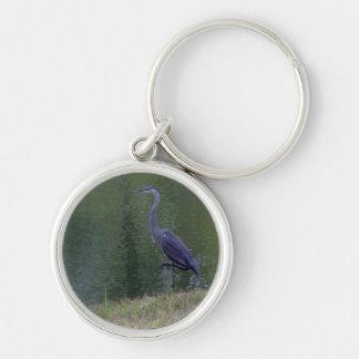 Great Blue Heron Keychain