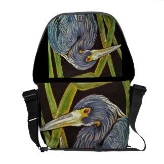 Great Blue Heron Messenger Bag
