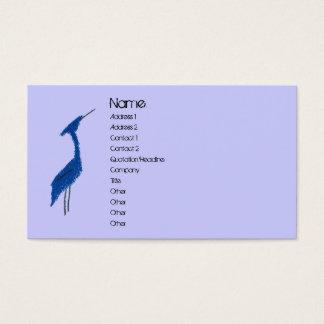 GREAT BLUE HERON profile card