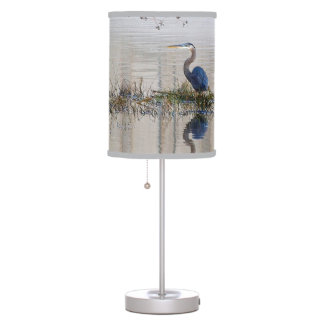 Great Blue Heron Table Lamp