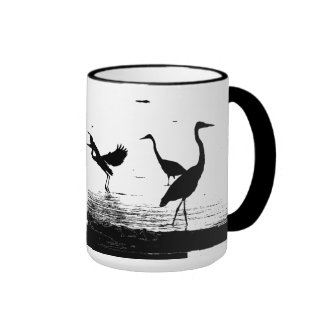 Great Blue Herons Mug