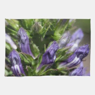 Great Blue Lobelia (Lobelia siphilitica) Kitchen Towel