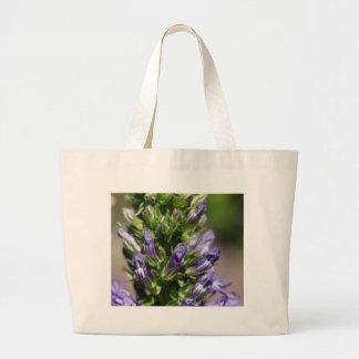 Great Blue Lobelia (Lobelia siphilitica) Large Tote Bag