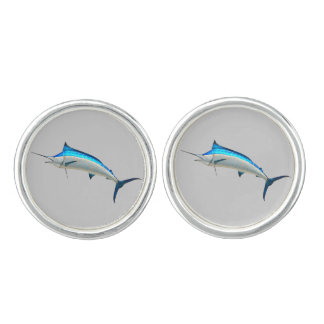 Great Blue Marlin Cufflinks