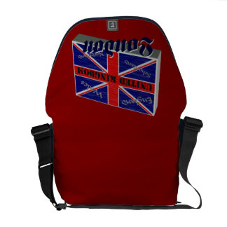 Great Britain 3D Messenger Bags