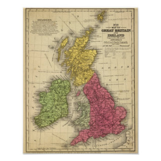 Great Britain and Ireland 2 Poster