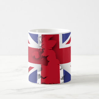 Great Britain country flag Coffee Mug