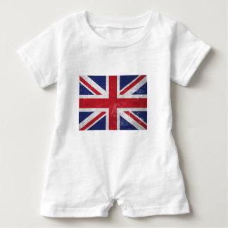 Great Britain Flag Baby Romper