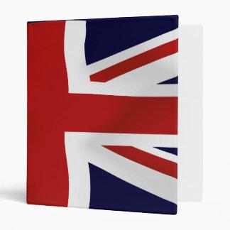 Great Britain Flag Binder