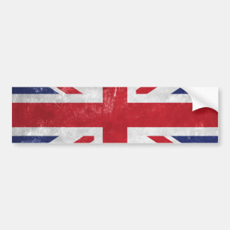 Great Britain Flag Bumper Sticker