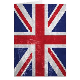 Great Britain Flag Card