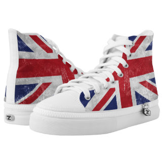 Great Britain Flag High Tops