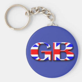 Great Britain Flag Keychain