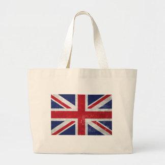 Great Britain Flag Large Tote Bag