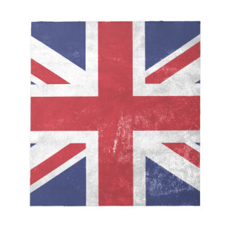 Great Britain Flag Notepad