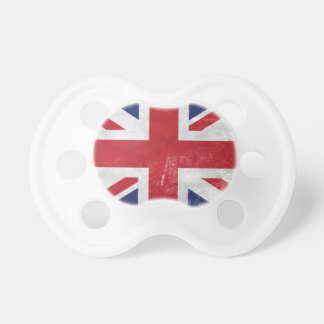 Great Britain Flag Pacifier