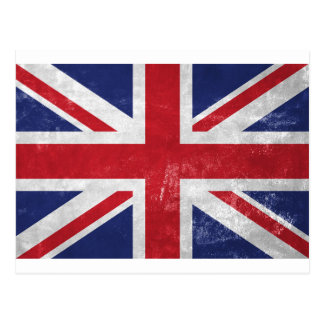 Great Britain Flag Postcard
