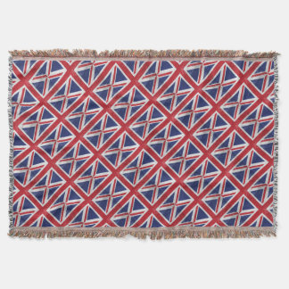 Great Britain Flag Throw Blanket