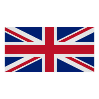 Great Britain Flag UK Poster United Kingdom