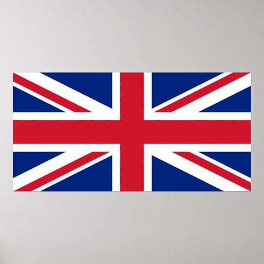 Great Britain Flag UK Poster United Kingdom